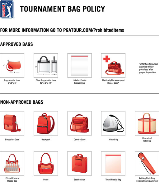 Tournament Bag Policy